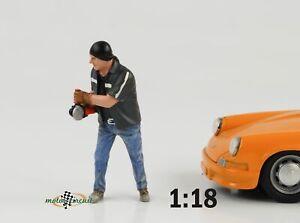 Mechanic Workshop Chop Shop Mr Chopman Figurine Figurines 1:18 American Diorama