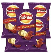 Mexican chips Sabritas Extra Flaming Hot  5 BAGS, (45 G)