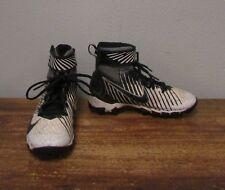 Nike Black White Strike Shark Kids Football Cleats - 2Y - 833389-100