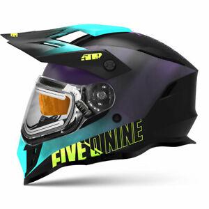 509 Delta R3L Ignite Helmet Galaxy Teal Purple F01000901