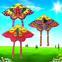 Huge 90cm Butterfly Kite single line Novelty animal Kites Outdoor Toy Kn