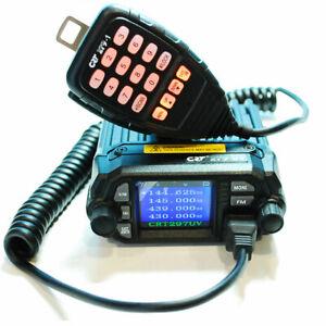 CRT-279 UV EMISORA MINI BIBANDA VHF-UHF - Potencia 25W