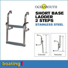 2 Steps Short Base Boat Ladder Stainless Steel - Oceansouth