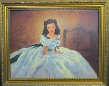 SCARLETT AT THE B.Q. BY JEFFERY BARSON CANVAS COA NEW
