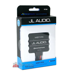 JL AUDIO MBT-RX Marine Stereo Rated Add-On Bluetooth Adapter Module New
