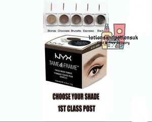 NYX Professional Makeup TAME & FRAME BROW POMADE - 1ST CLASS POST