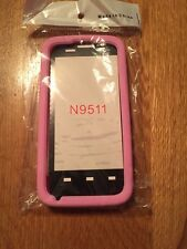 ZTE Silicone Pink Source N9511 Faceplate Soft Gel Phone Case