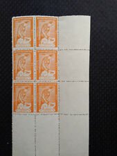 NEPAL 1961 CHILDREN'S DAY CORNER BLOCK OF 6 MNH