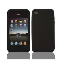 Housse Etui Coque ★★ IPHONE 4 4S★★ NOIR Contour Brillant