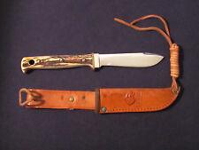 PUMA Hunter's Pal Knife 6397 Stag German Solingen Vintage Old 53606 1966