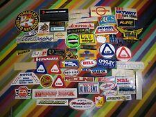 vtg 1970s 1980s Asstd. BMX cycling sticker - Hutch Kuwahara Cook JMC A'ME +