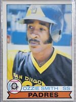 1979 O-PEE-CHEE Ozzie Smith Rookie Card #52 San Diego Padres Topps- Mint! PSA 9?
