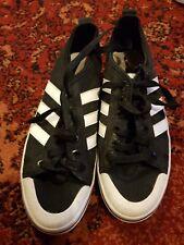 Adidas honey low  black/white size 6