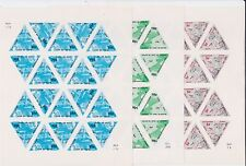 RATTLESNAKE ISLAND 1967 SET IMPERF SHEETS MAPS BOATS ETC.