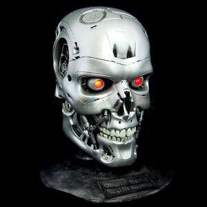 Terminator T800-101 Skull Head LED 1/1 Vinyl Model Kit