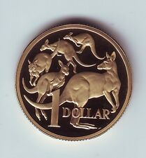 1991 Australia $1 Proof Coin Kangaroo out of a Set