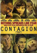 Contagion (DVD, 2012) - Francaise Incluse - Brand New Sealed
