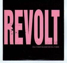 (EA272) Revolt, Call It What You Want - 2007 CD
