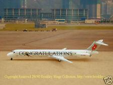 "Crossair MD-83 (HB-ISX) ""Anja Parson"", 1:400 Phoenix"