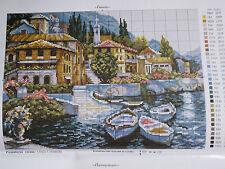 Italy  cross stitch chart