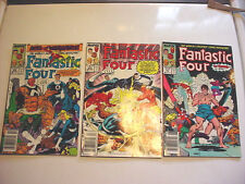 LOT OF 3 Fantastic comic's Four #333 327 & 335 (1989, Marvel)