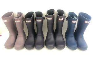Hunter Woman's Original Short Waterproof Rain Boots