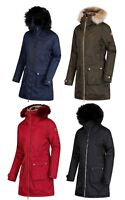 Regatta Womens/Ladies Long Parka Jacket Lucasta Insulated Waterproof Breathable