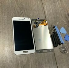 LCD Screen Touch Digitizer For Samsung Galaxy S5 i9600 SM-G900F WHITE ASSEMBLY