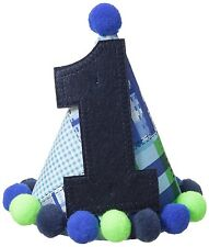 Mud Pie Boys 1st Birthday Party Hat  NEW