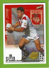 2001SELECT NRL IMPACT SERIES-CLUB PLAYER OF THE YEAR-CP13-TRENT BARRETT-STGEORGE