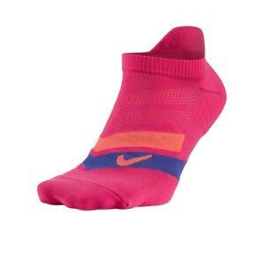 Womens Nike Performance Cushioned No Show Socks Size 6 - 10 Pink SX5466 635