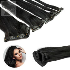 Clip In Extensions Clip On Haarteile 45 cm 60 cm Indisches Remy 100% Echthaar