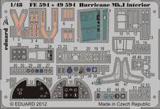 Eduard 1/48 Hawker Hurricane Mk. I Auto-Adhesivo Interior # FE59