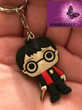 BRAND NEW 2020 PVC RED HARRY POTTER HOGWARTS KEYRING  272 (MOVIE, COSPLAY)