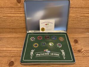 2006 eBay Live Las Vegas Poker Chip Enamel Pin Collection NEW 223/250 Limited Ed