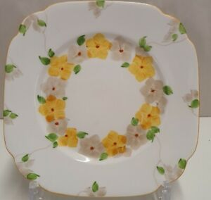 Chapmans Longton Royal Standard Handpainted Side Plate c1930-49 Made in England