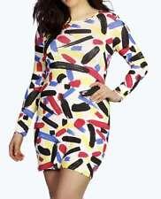 Plus Size Printed Shift Ladies Dress Size 20