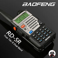 Baofeng RD-5R DMR Dual Band VFO Digital V/UHF Two way Radio Transceiver US Ship