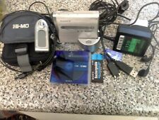 SONY MINIDISC MZ-NH1, NETMD,  MDLB,  TOP MODEL, ALMOST NEW, MADE IN JAPAN