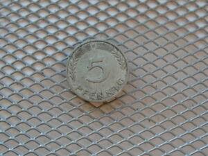 Germany  5 Pfennig 1950 F, zu J. 382.PROBEN DER BUNDESREPUBLIK DEUTSCHLAND