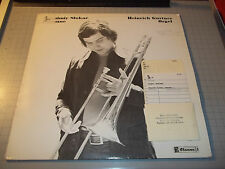 Branimir Slokar, Posaune Heinrich Gurtner, Orgel 1975 Baroque Vinyl LP Claves