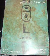 MILLON & ASSOCIES catalogo asta ARCHEOLOGIA EGITTO ORIENTE GRECIA ROMA 1/6/2011