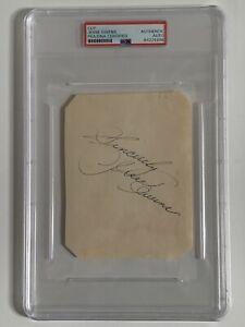 Jesse Owens Olympics Signed Autograph 4 x 5.5 Cut Signature PSA DNA