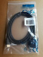 Lot of 24 pcs New C2G - PT #: 42516 HDMI to DVI-D Digital Video Cable 2M/6.6FT