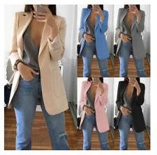 Women's Ladies Fashion Slim Fit Casual Business Blazer Suit Jacket Coat Outwear