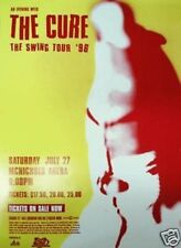 """The Cure """"The Swing Tour"""" 1996 Denver Concert Poster - New Wave Music Legends"""