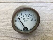 More details for live steam parts smiths 1&1/2 inch face pressure gauge…very old.