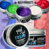 Mofajang Temporary DIY Hair Color Wax Mud Dye Cream Modeling 8 Colors