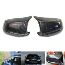 For BMW F10 Pre-LCI 2011-2013 Carbon Fiber Style Door Side Mirror Cover Caps