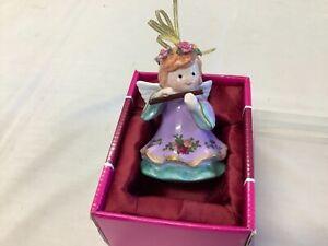 ROYAL ALBERT OCR CHRISTMAS DECORATION ANGEL IN ORIGINAL BOX